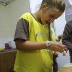 Making bead bracelets