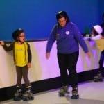 Tawny Owl skating